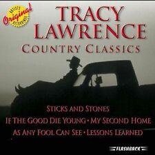 Country Classics by Tracy Lawrence (CD, Oct-2005, Flashback Records) BRAND NEW