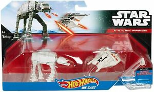 Hot-Wheels-Star-Wars-Rebel-Snowspeeder-Orange-vs-AT-AT-Starship-2-Pack
