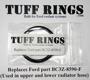 Greased Ford O-ring seal Replaces BC3Z-8590-F, GUARANTEED FIT!