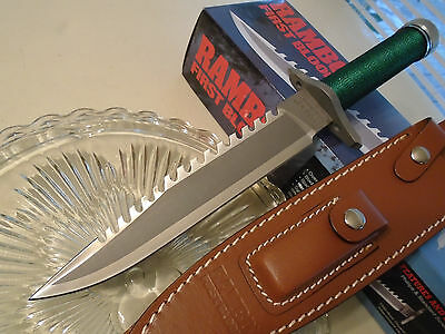 Rambo I First Blood Licensed Masterpiece Collection Combat Survival Knife 9292