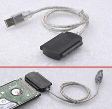 """CÂBLE ADAPTATEUR v. USB 1.1 2.0 3.0 SUR IDE 2,5"""" 6,35cm DISQUE DUR PORTABLE VL-9"""
