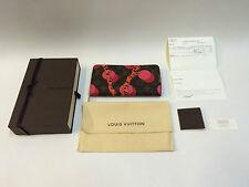 Nuevo con recibo Louis Vuitton Zippy ramages cartera M60927 Edición Limitada Rara