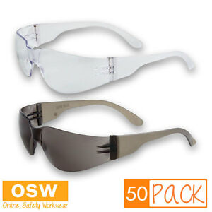 fbcd52a80ce Image is loading 50-X-VISITOR-BUDGET-IMPACT-SAFETY-PROTECTION-GLASSES-