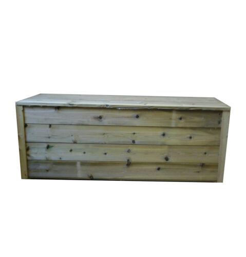 Wooden Garden Log Store /& Bench 5ft L Log Store Bench Garden Storage Wood Store