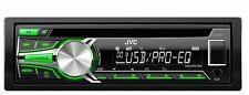 JVC KD-R453E - CD MP3 USB Autoradio GRÜN CD-RADIO SMARTPHONE AUX-IN  NEUWARE