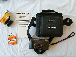 HANIMEX-IC2000-motor-auto-flash-focus-free-DX-appareil-photo-argentique