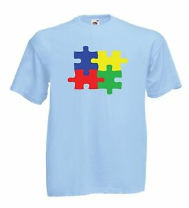 Image Is Loading AUTISM AUTISTIC AWARENESS Adult Top Xmas Birthday Gift