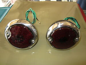 1946-1947-1948-1949-1950-1951-1952-FORD-TRUCK-F100-TAIL-LIGHT-ASSEMBLYS-NEW