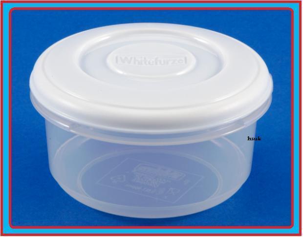 Whitefurze Round Plastic Food Storage Container 2 Litre eBay