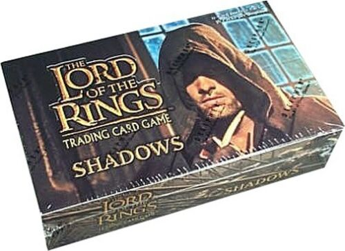 LOTR LORD OF THE RINGS TCG SHADOWS BOOSTER BOX SEALED NEW
