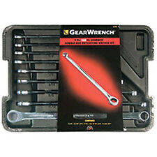 Gearwrench 85998 9 Piece Xl 0º Gear And Box Ratcheting Wrench Set Sae