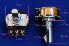 2 pcs DACT Type SMD Stepped Attenuator 21 step volume control pot D Shape Shaft