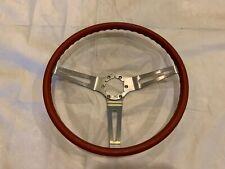 Red Chevelle Camaro Sport Comfort Grip Steering Wheel 1969 1972 Impala Nova Ss