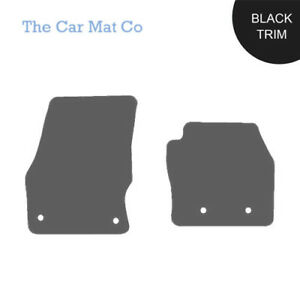 Ford-Transit-Connect-2016-On-Fully-Tailored-Grey-Carpet-Van-Mats-With-Black-Trim