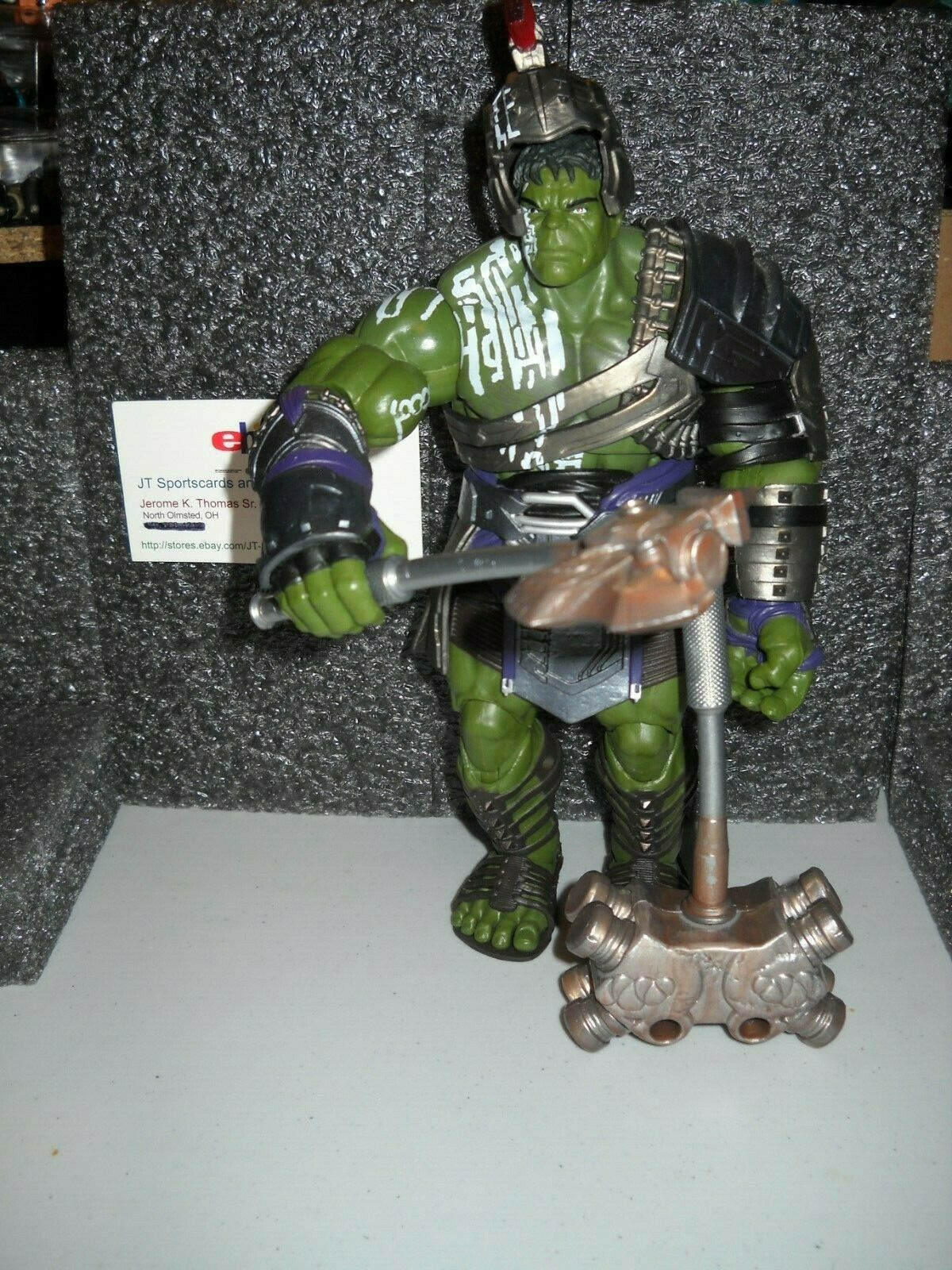 MARVEL LEGENDS BAF GLADIATOR HULK
