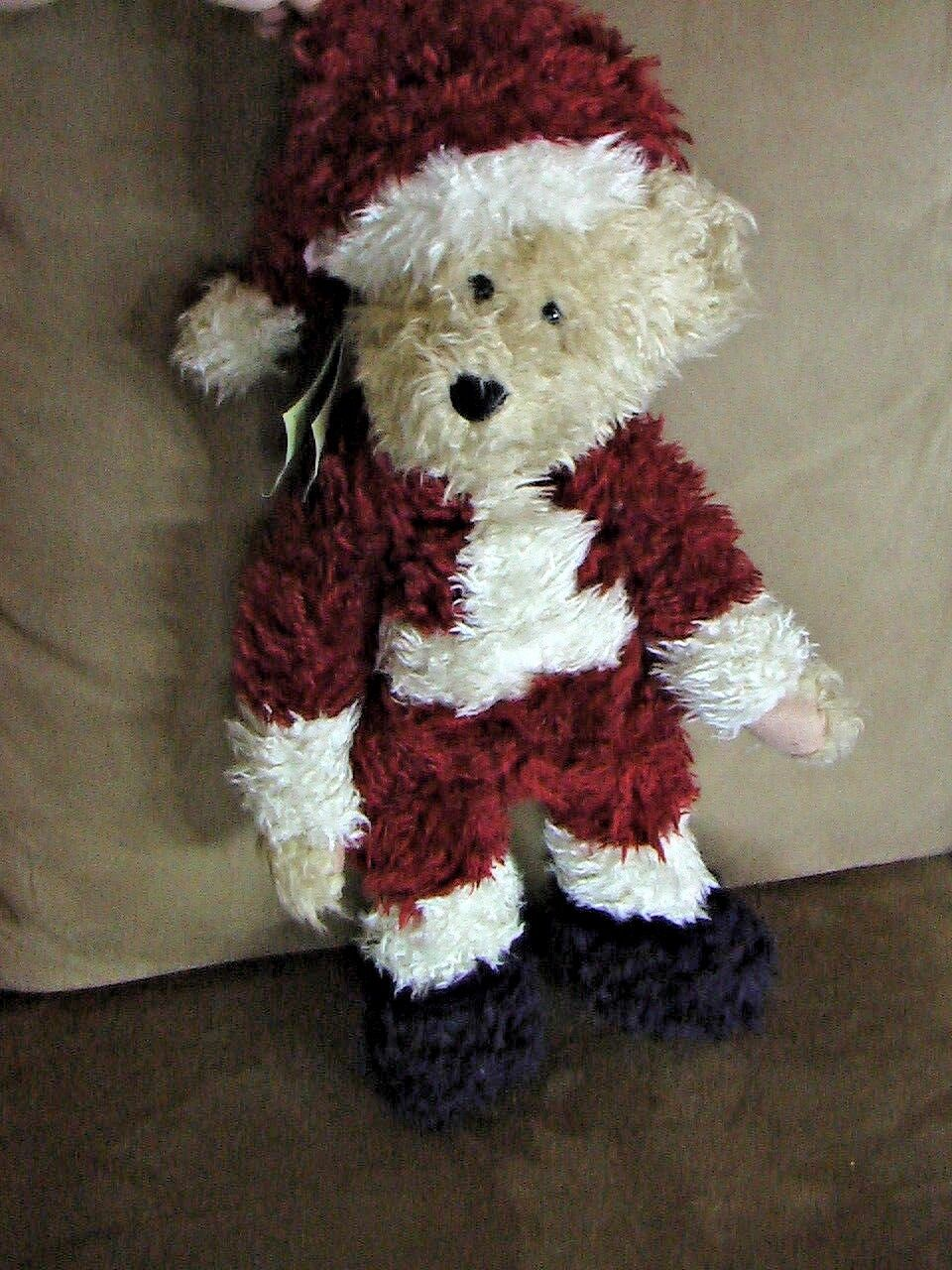 Boyd Bear Vintage Holiday Christmas Collectible Original Sandy Claus II Santa