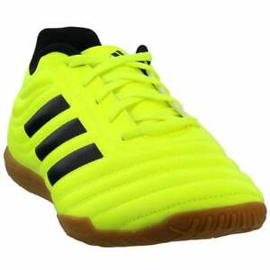 adidas-Copa-19-4-Indoor-Casual-Soccer-Cleats-Yellow-Mens-Size-11-5-D