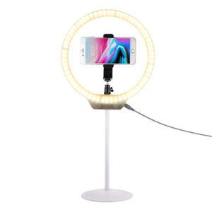 Make Up LED Ring Light Dimmable 3200K-5500K Photography Video Lighting Kit OG010