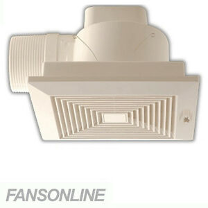Image Is Loading Polyaire Derby Ceiling Exhaust Fan 100mm And 150mm