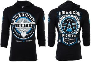 AMERICAN-FIGHTER-Mens-Hoodie-Sweat-Shirt-BROCKPORT-Athletic-BLACK-Gym-65
