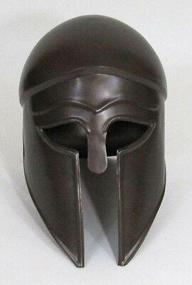 Greek Corinthian Armor Helmet ~ Antique Finish ~ Medieval Knight Crusader Armer