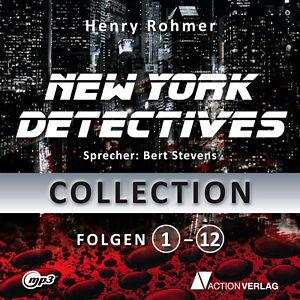 XXL-Hoerbuch-Paket-NEW-YORK-DETECTIVES-I-12-Hoerbuecher-I-30-Stunden-I-mp3-DVD