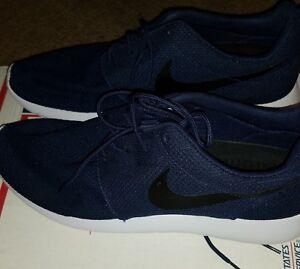 287b7ac13733 Image is loading Nike-Roshe-Run-Midnight-Navy-White-Running-Shoes-