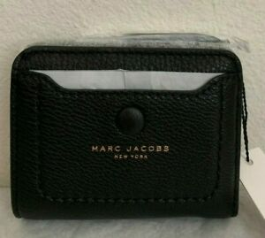 NWT-Marc-Jacobs-Empire-City-Mini-Compact-Leather-Coin-Wallet-145-Original-Packa