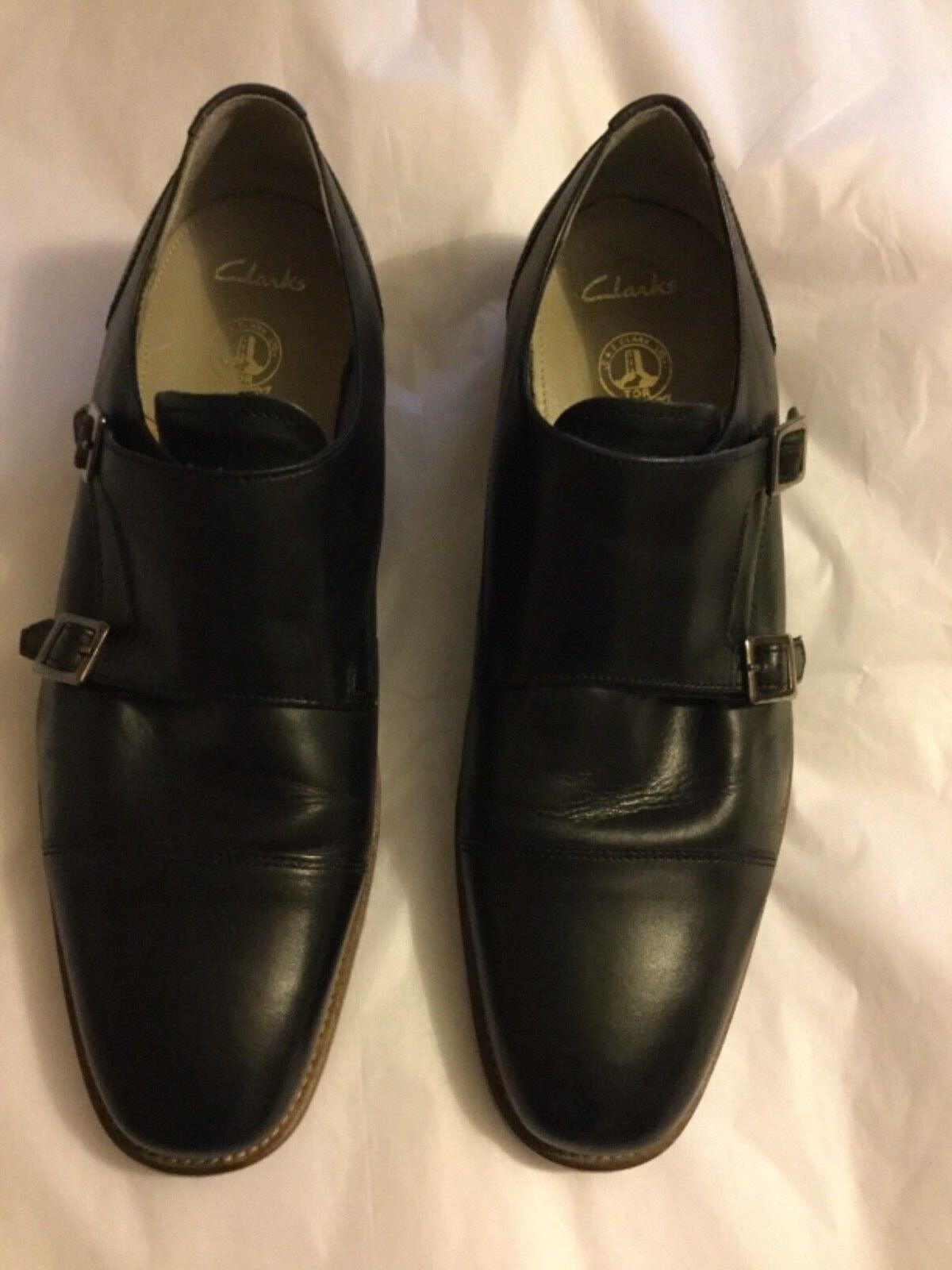 Clarks Smart shoes Style Black Penton Monk - 11.5