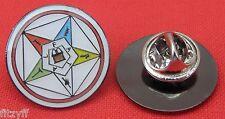 Eastern Star Metal Lapel Hat Cap Tie Pin Badge Freemason Masonic Mason Brooch