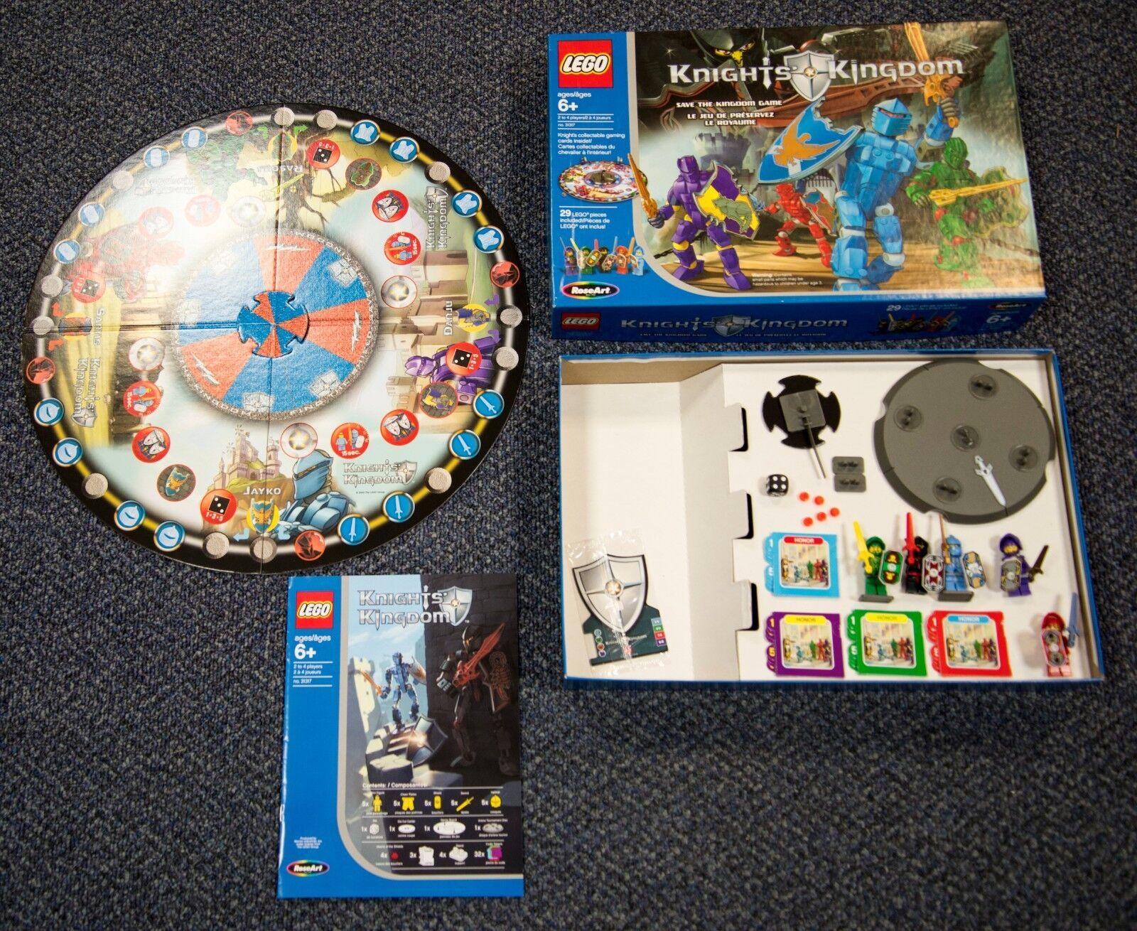 2004 LEGO KNIGHT'S KINGDOM BOARD BOARD BOARD GAME & FIGURES RosaART a2c3c5