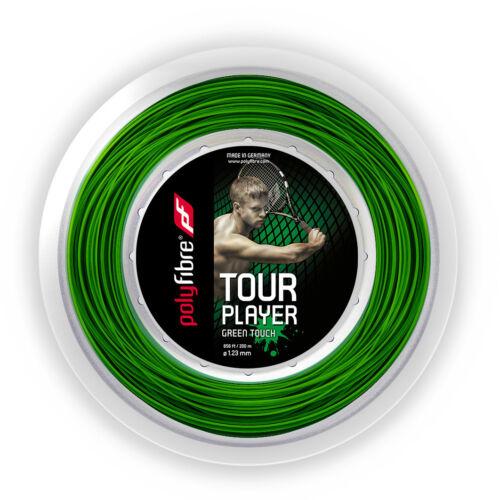 grün 1,23 mm POLYFIBRE Tour Player Green Touch 0,52 EUR//m 200m Rolle
