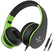 Sound Intone I68 Foldable Portable 3.5mm High-Performance Over-ear Headphones,