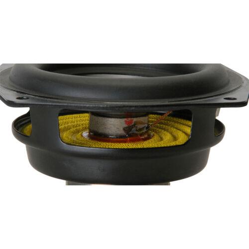 "Dayton Audio ND90-8 3-1//2/"" Aluminum Cone Full-Range Driver 8"