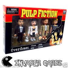 Pulp Fiction sobredosis Vince Jody Mia Lance 4 PACK NECA Raro Conjunto De Figuras Película