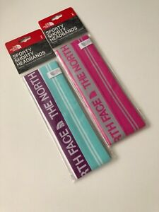 The North Face SPORTY SHORTY HEADBANDS 2 PACK $22 NEW
