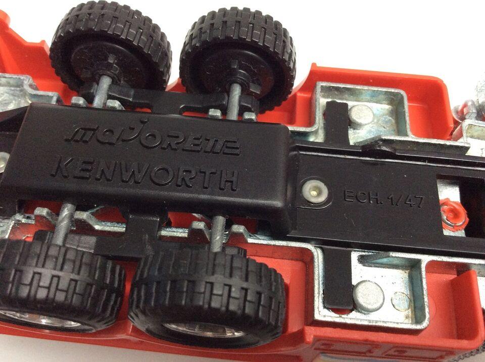 Modellastbil, Majorette Amerikaner kranbil, skala 1:47