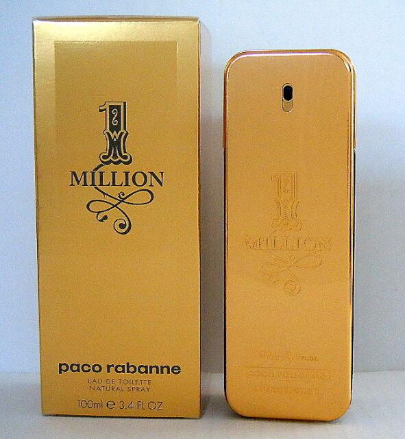 PACO RABANNE One Million 1 Million 100ml Eau de Toilette Spray   NEU in FOLIE