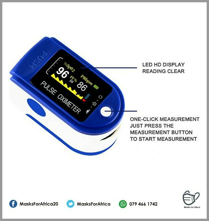 Fingertip Pulse Oximeters available