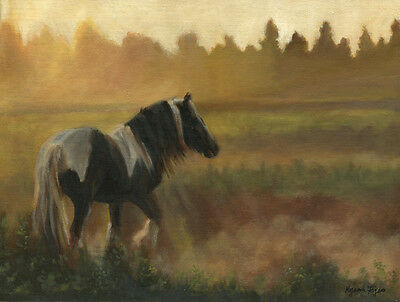 Appleby Horse Fair by K Fejes ~ Gypsy Vanner ~ Cob Team Fine Art Note Cards