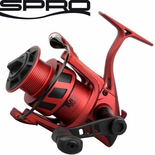 Spro Red Arc The Legend 1000 Stationärrolle für Forelle und Barsch Spinnrolle