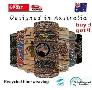 Australian Bandana Head Scarf Headwear Shield Face Mask Cycling Fishing Outdoor