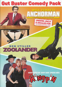 GUT-BUSTER-COMEDY-PACK-ANCHORMAN-ZOOLANDER-KINGPIN-DVD
