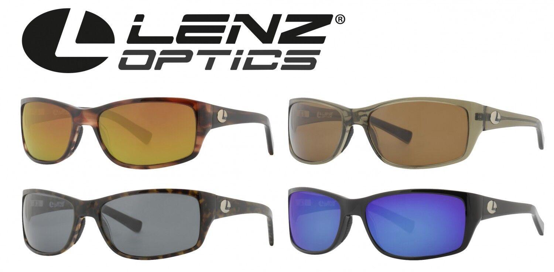 Lenz Optics Laxa Sunglass Edelstahlbügel / Acetatrahmen - Polbrille, Angelbrille