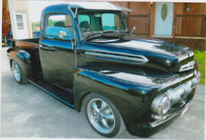 1951 mercury custom pick up
