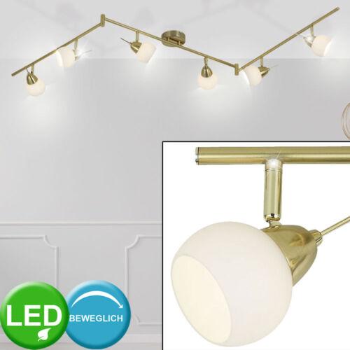 LED de latón mantas colgando lámparas residenciales ess habitación vidrio spot luminarias ajustable
