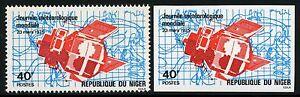 Space-Raumfahrt-1975-Niger-Meteorologie-Meteorology-456-A-U-Imperf-MNH-1235