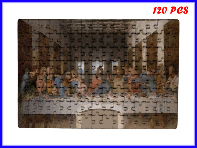 Leonardo da Vinci - The Last Supper Art - 120 Piece Jigsaw Puzzle