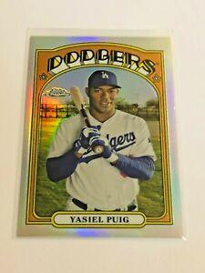 2013 Topps Chrome Baseball - '72 Chrome - Yasiel Puig RC - Los Angeles Dodgers