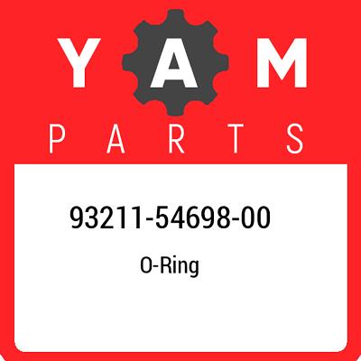 Yamaha 93211-54698-00 O-RING; 932115469800
